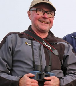 Lars Tilling on Eagle Safari. Find the huge eagles on a tour. Photo Jim Sundberg.