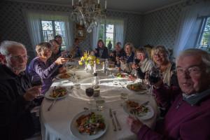 Under fågelveckan på Sallmunds bjuds det på härlig vällagad mat.