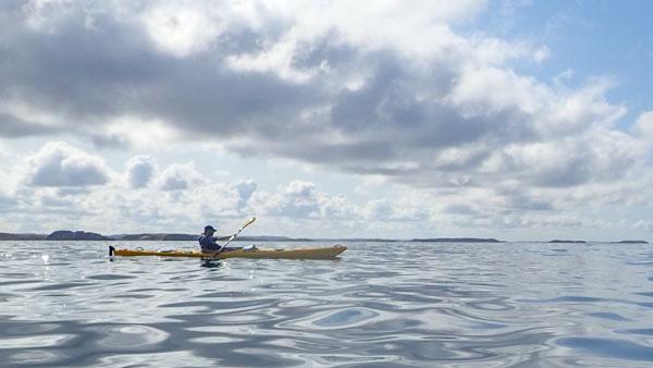 Kom igång med kajakpaddling - utrustningstips. Foto: Jim Sundberg/GotlandNature