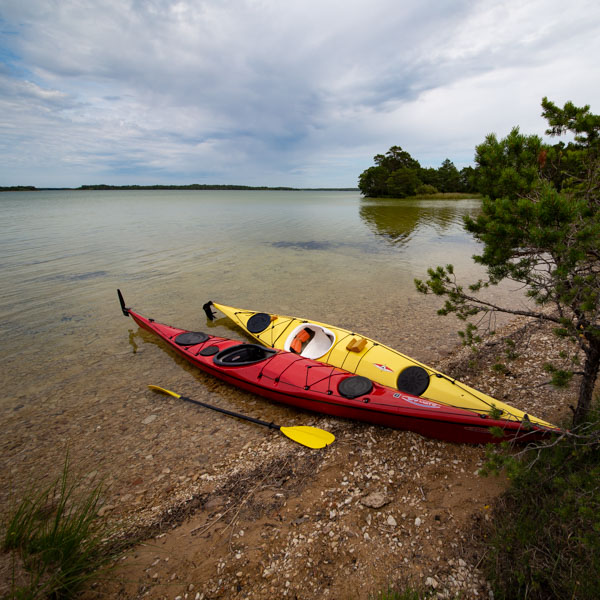 Kom igång med kajakpaddling - förkunskaper. Foto: Jim Sundberg/GotlandNature