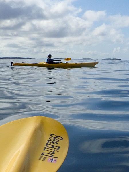 Kom igång med kajakpaddling - säkerhet. Foto Jim Sundberg/GotlandNature.